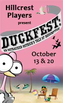 Duckfest: An Ostracized Ostrich's Tale of Redemption