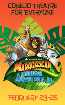 CTFE Dreamwork's Madagascar the Musical Adventure Jr.